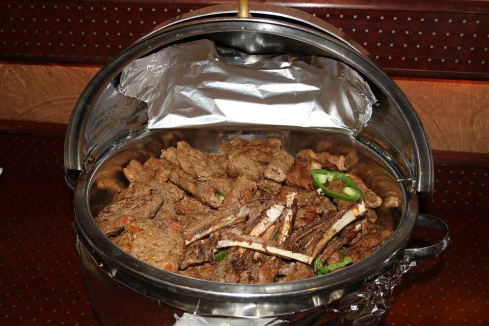 Lamb Chop with Chapli Kabab