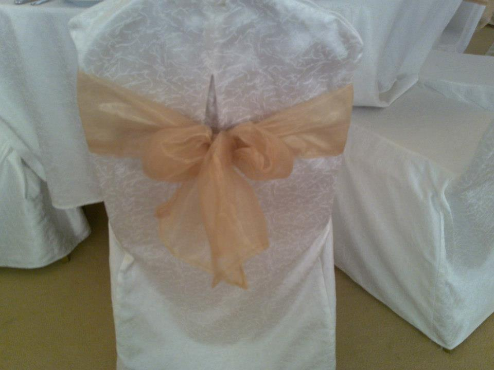 Banquet Chair with Ribbon
