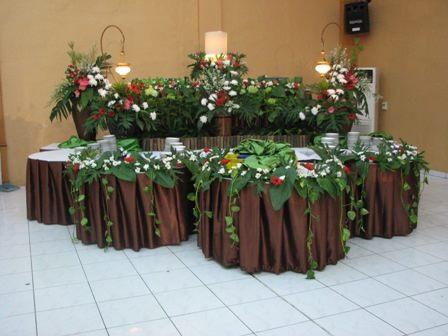 Buffet Decoration