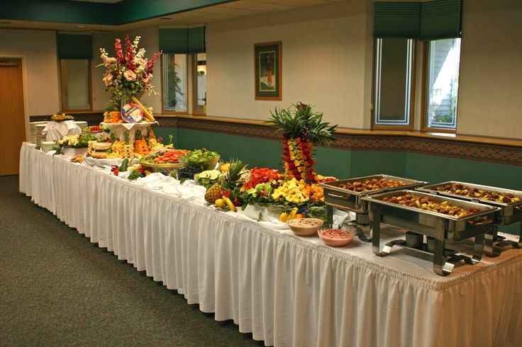 Buffet Setup Decoration