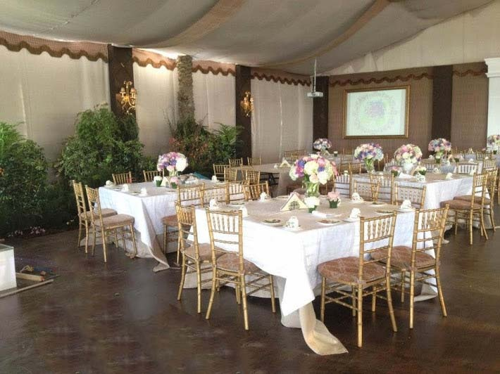 Chavari Chairs with Decorated Table Cover