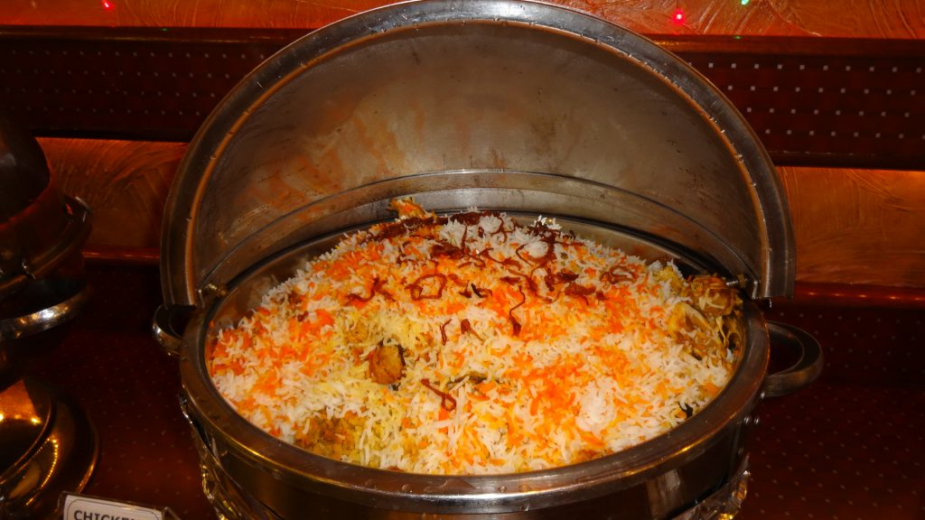 Chicken, Mutton or Vegetable Biryani