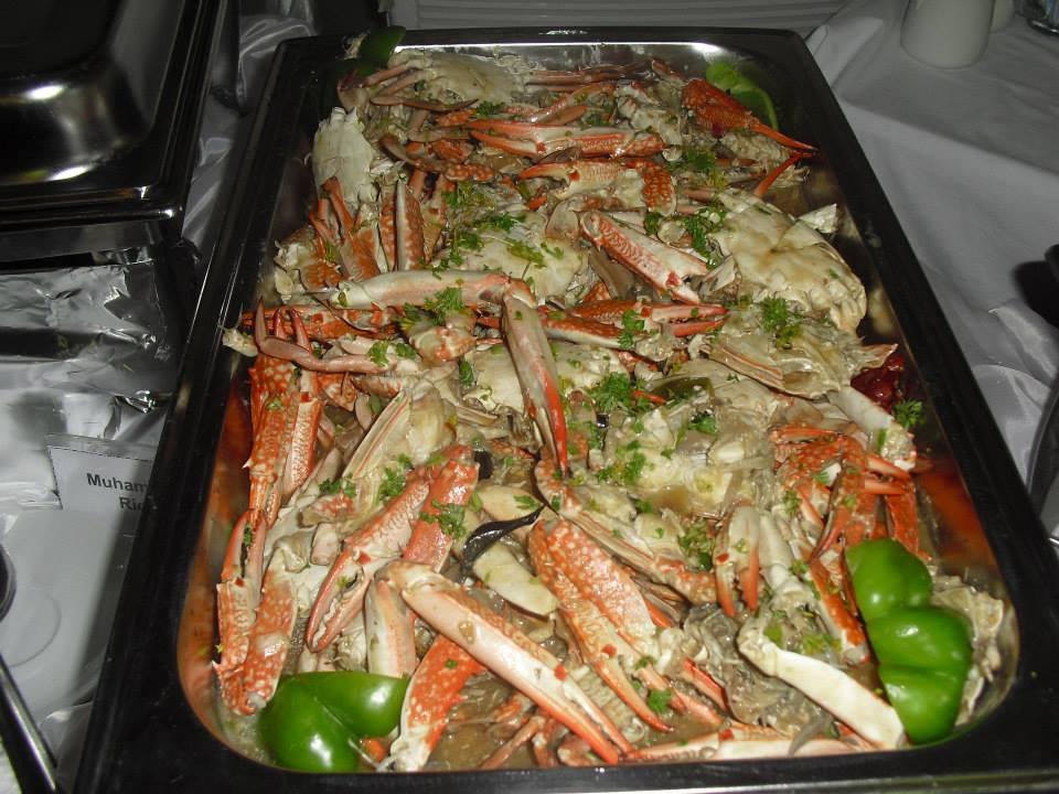 Crab with Wasmiya's Special Homemade Sauce