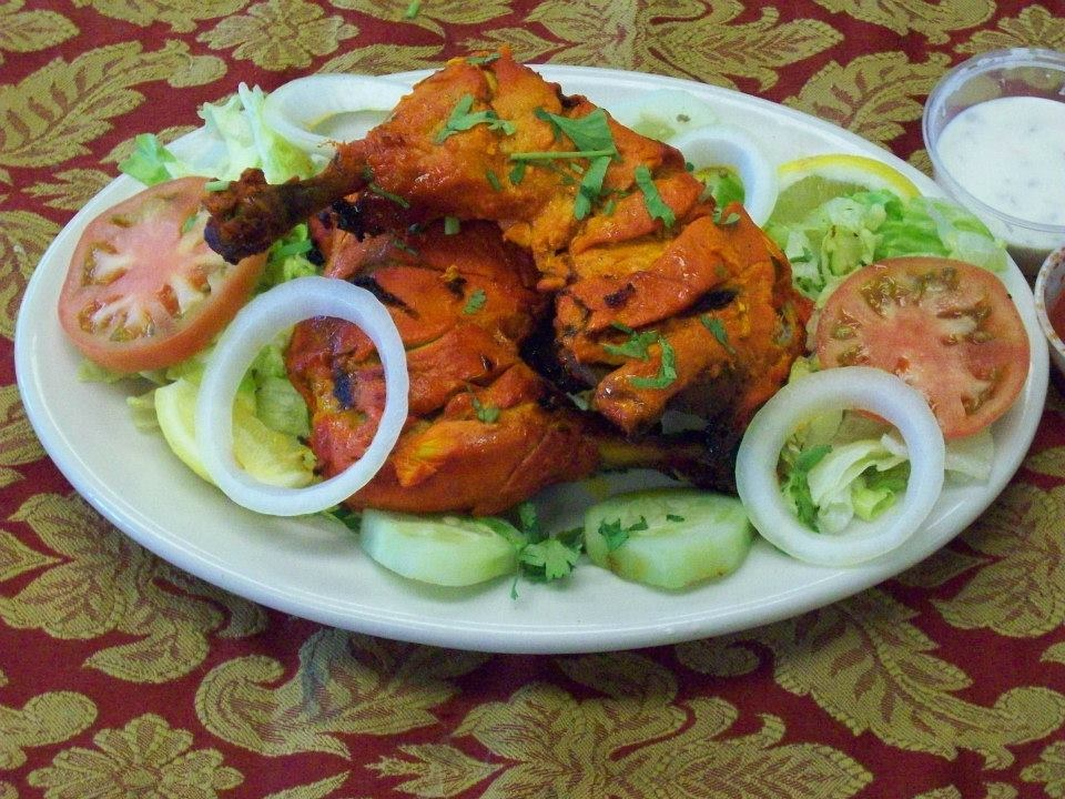 Grilled Chicken Tikka
