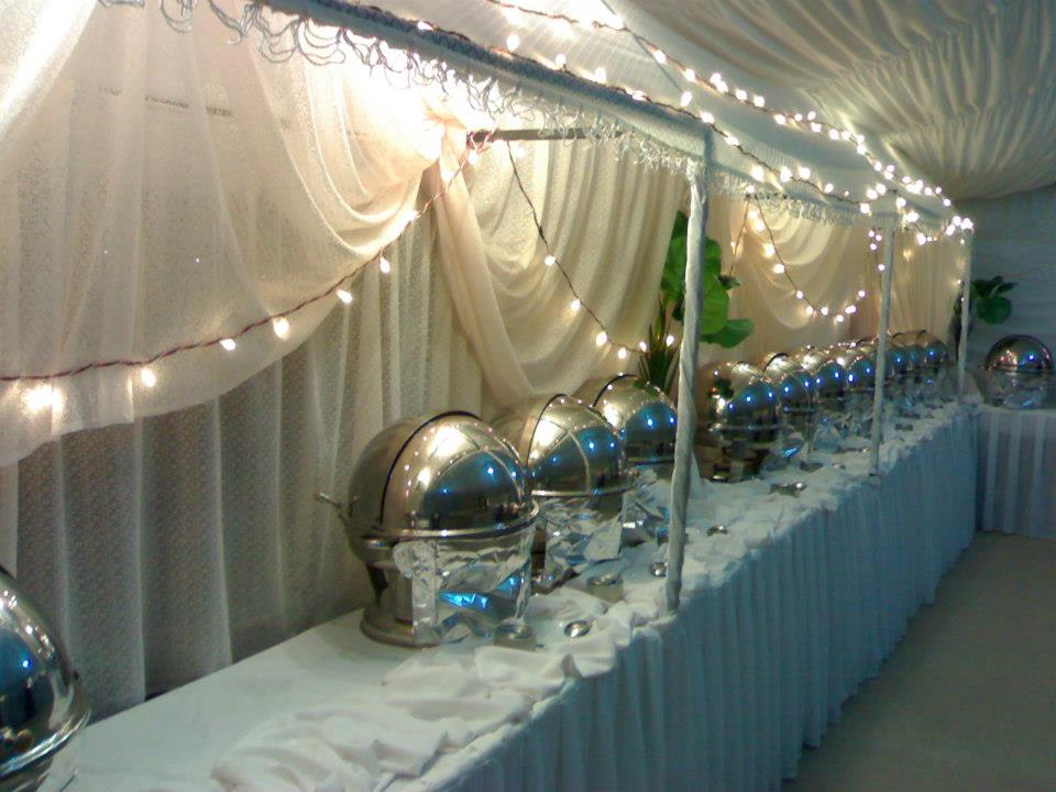 Lighting for Buffet Setup