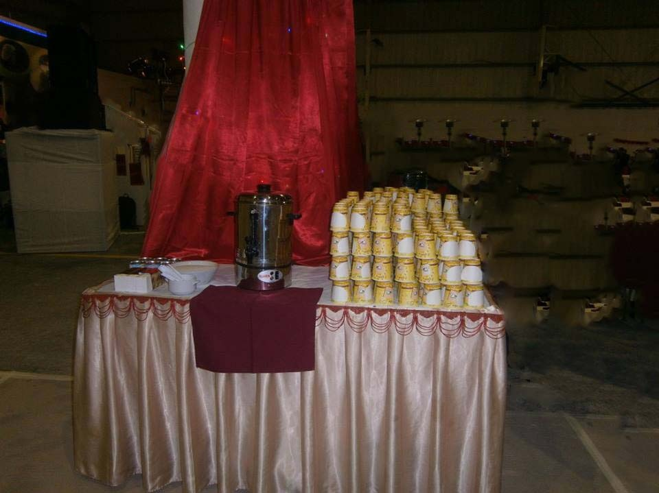 Tea / Coffee for outdoor serving