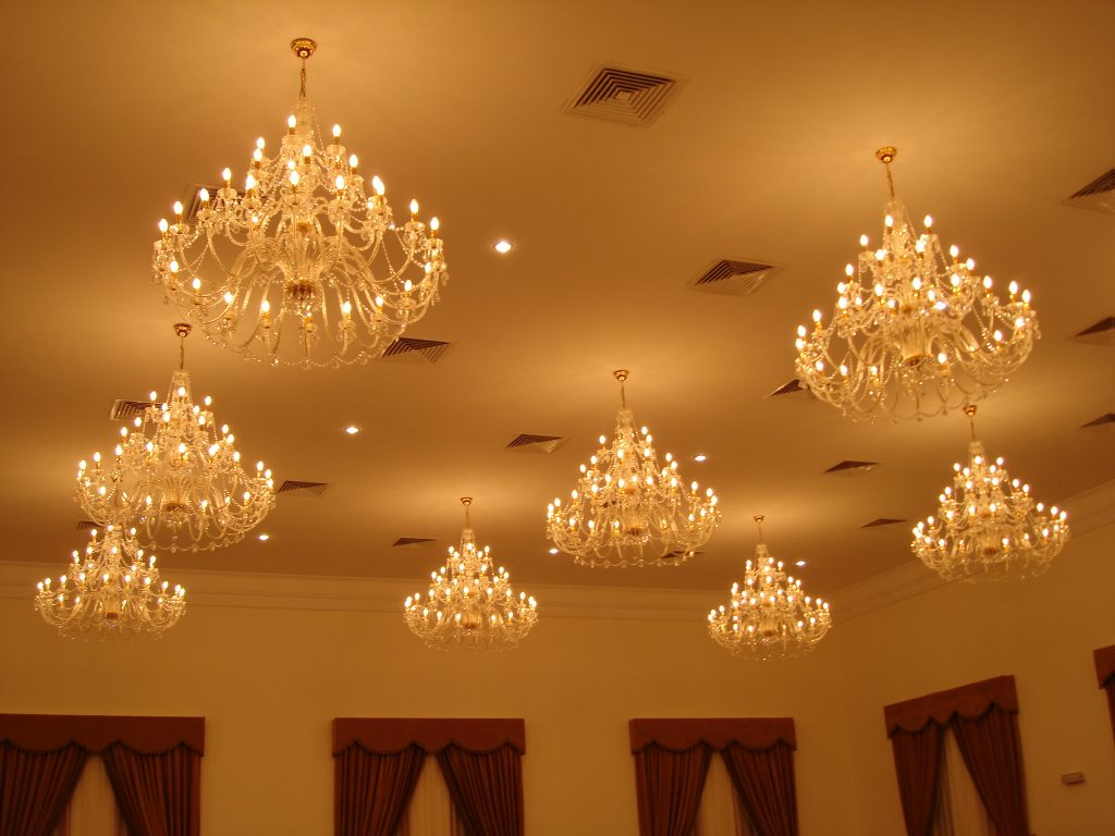 Chandeliers (Golden & Silver)
