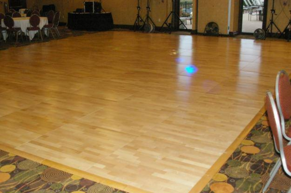 Wooden Floor without Carpet