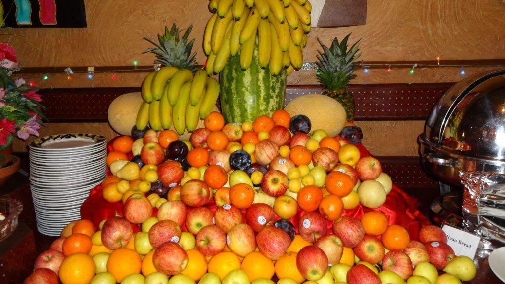 الفاكهة الطازجة