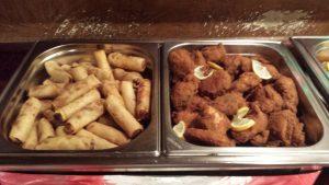 Chicken Broasted & Spring Roll