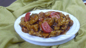 Flamingo's special Sweet and Sour Chicken