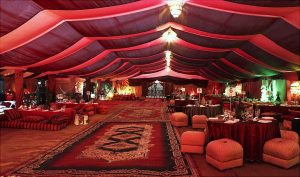 Arabic Tent with complete Arabic Setup