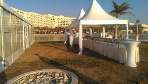 Buffet Setup for Outdoor Catering