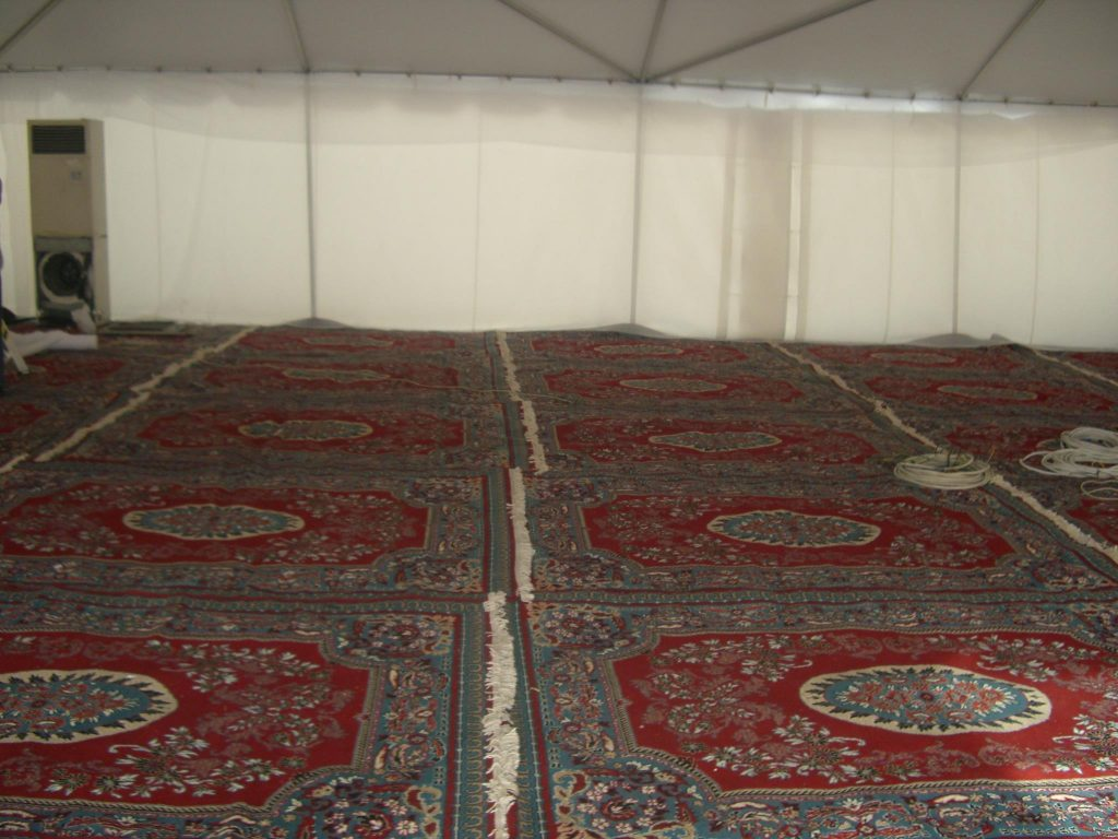 Different variety of carpets