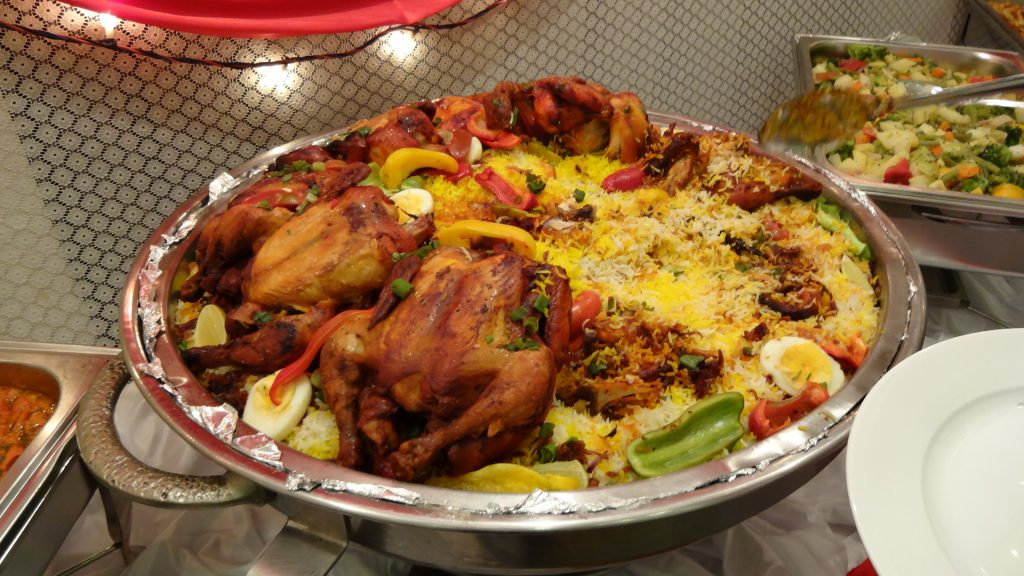 Full Chicken Ghuzi with Bukhari Rice