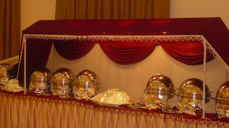 Royal Buffet Setup