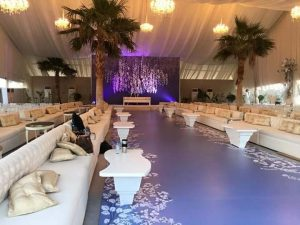 Tent for a VIP Event