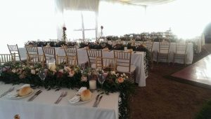 Tent for wedding arrangements available