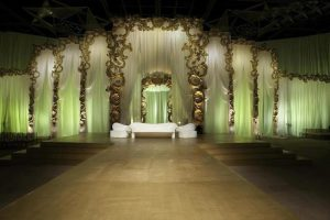 Wedding Stage with complete Decoration