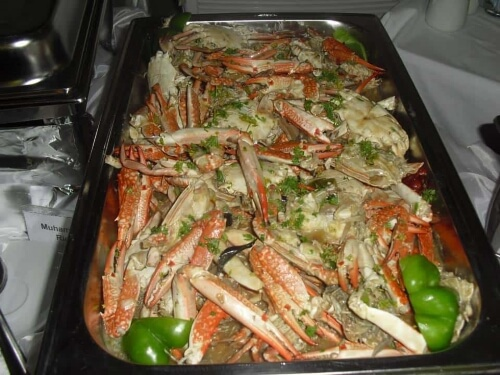 Crabs with Wasmiya's Special Homemade Sauce
