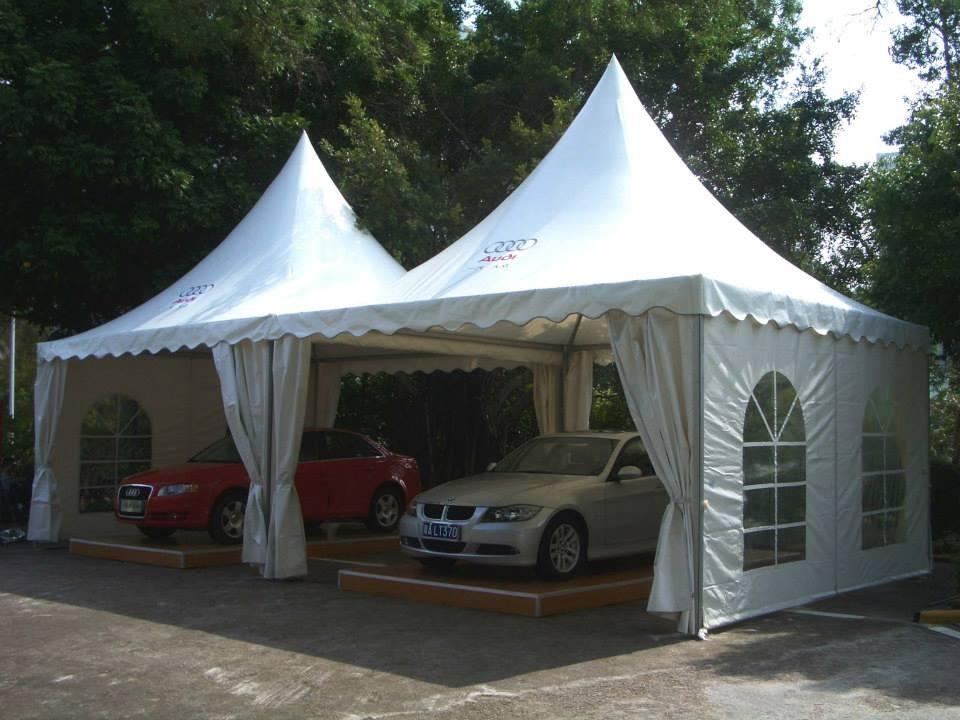 Pagoda Tent for Car Park