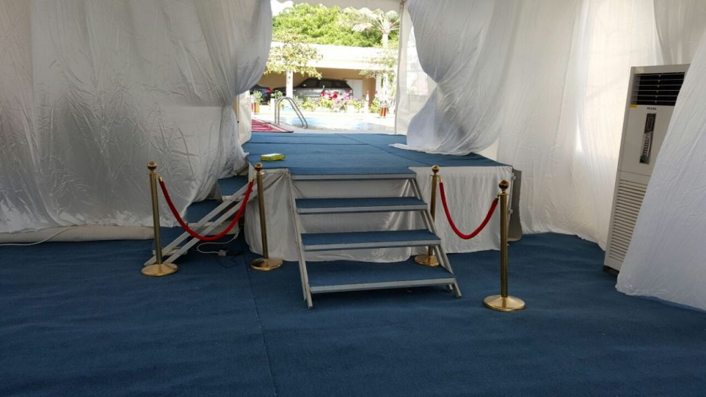 Steps for Tents Available