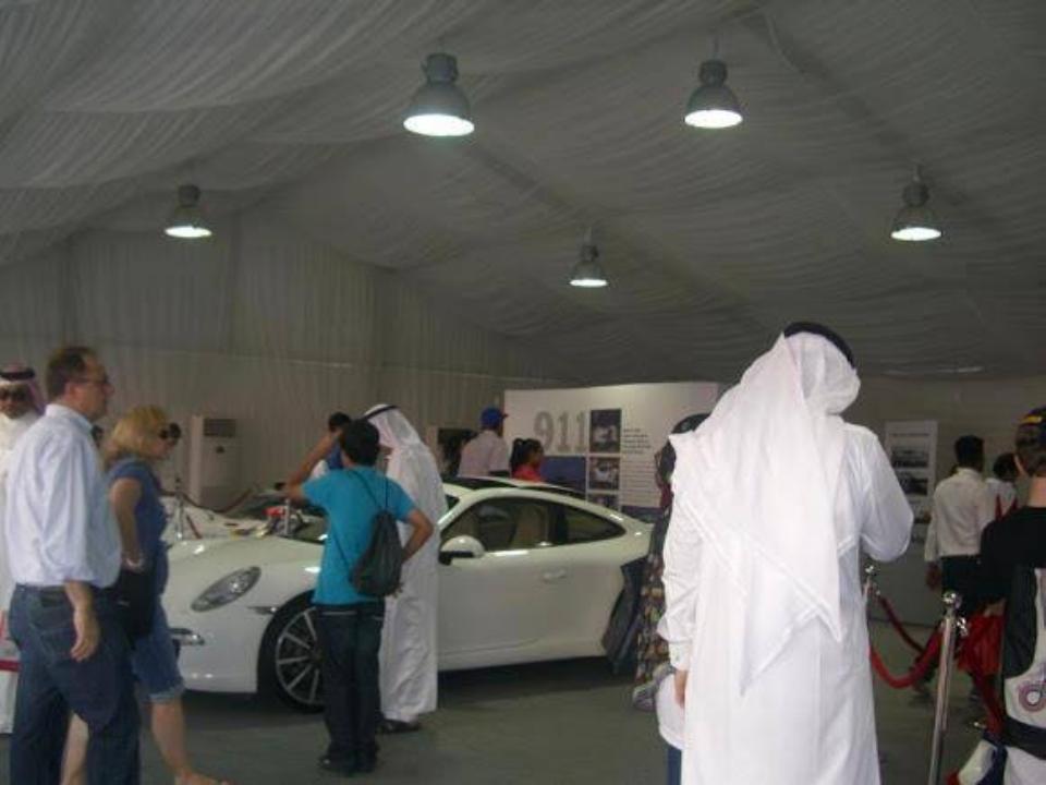 Tent for Auto Exhibition