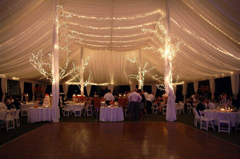 Tent for an executive events