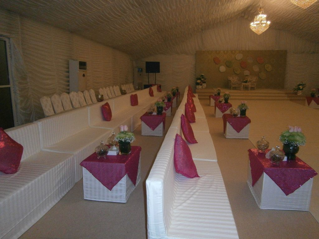 Tent with various themes available
